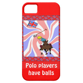 Polo players have balls iPhone SE/5/5s case