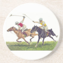 Polo Ponies Drink Coaster