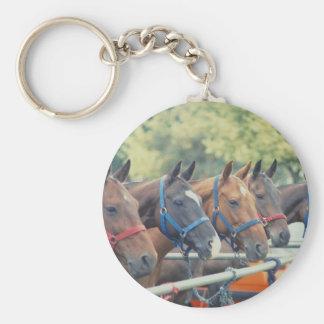 Polo Pony String Keychain