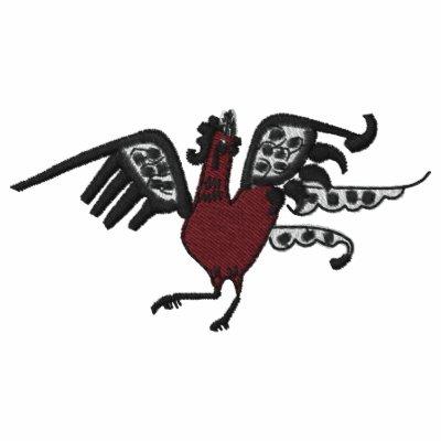 Polo rojo de Emb del pollo