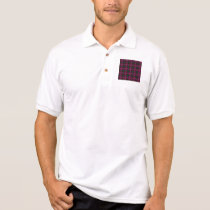 Polo Shirt - Fractal Pattern pink green purple red
