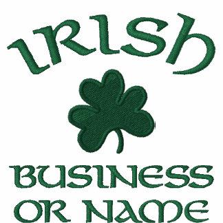Polo Shirt-Irish Shamrock Embroided