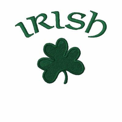 Polo Shirt-Irish Shamrock Embroidered