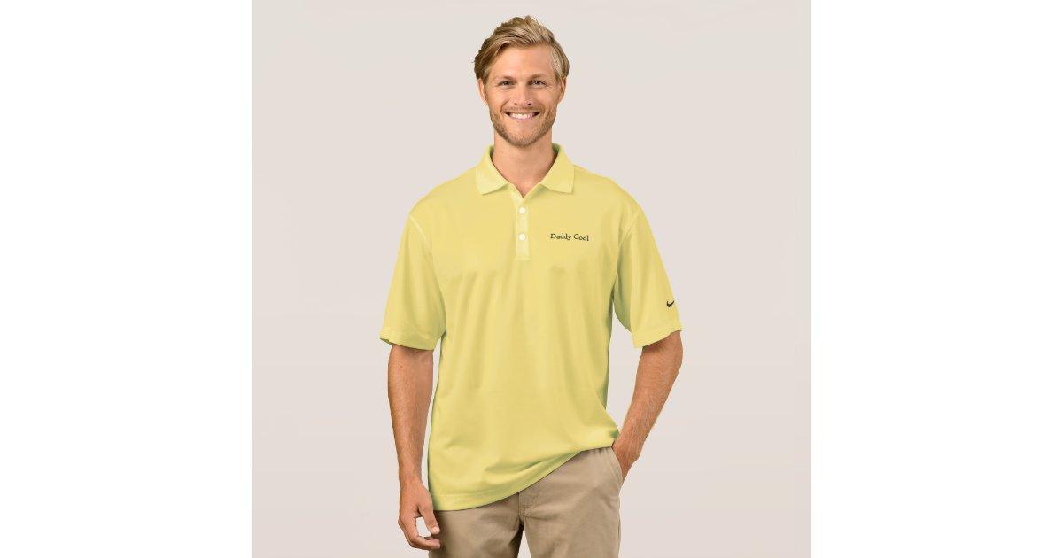 Polo shirt nike daddy cool custom zazzle for Customize nike shirts online