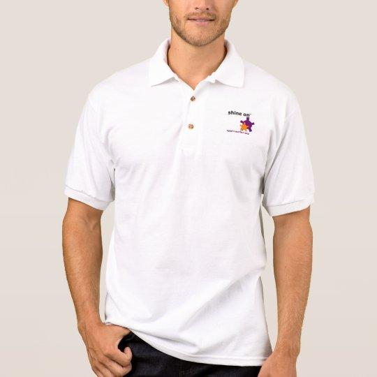 Polo Shirt - Shine On Logo (clear)