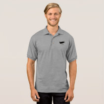 Polo shirt with bhasalt logo
