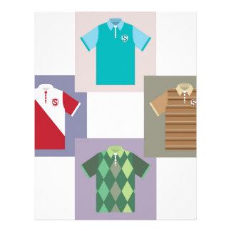 Polo Shirts vectors Letterhead
