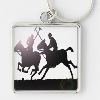 POLO SILHOUETTE KEYCHAIN