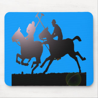 POLO SILHOUETTE MOUSE PAD