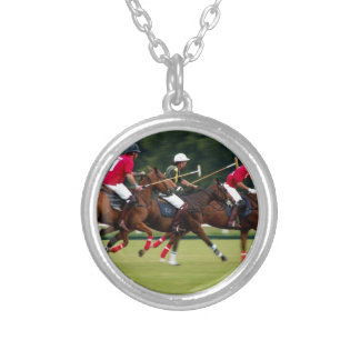 Polo Silver Plated Necklace