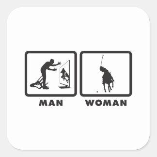 Polo Square Sticker