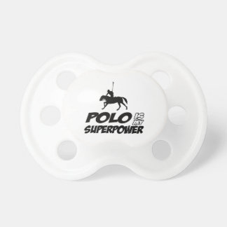 Polo Superpower Designs Pacifier