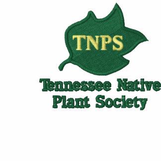 Polo verde del logotipo de la hoja del álamo de TN