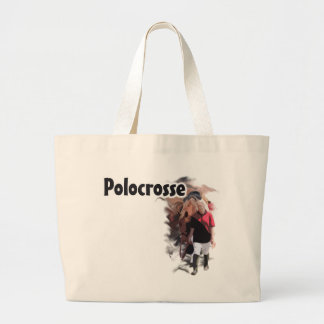 Polocrosse Large Tote Bag