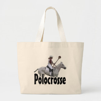 Polocrosse (Stylized) - Bottom 2 Large Tote Bag