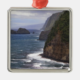 Pololu Valley Hawaii Metal Ornament