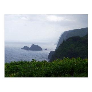 Pololu Valley Lookout, Hawaii, Postcard