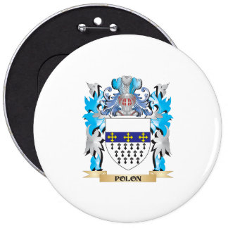 Polon Coat of Arms - Family Crest Buttons