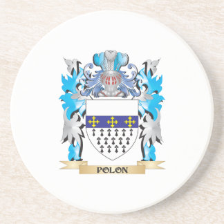 Polon Coat of Arms - Family Crest Coasters