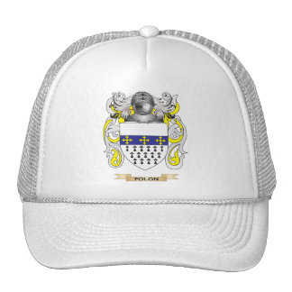 Polon Coat of Arms (Family Crest) Mesh Hats