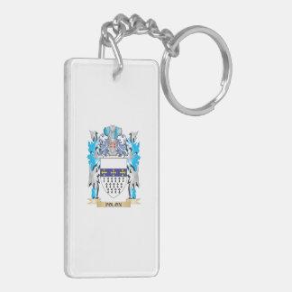 Polon Coat of Arms - Family Crest Rectangular Acrylic Key Chains