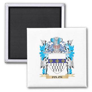 Polon Coat of Arms - Family Crest Fridge Magnets