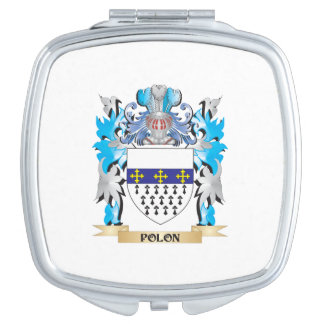 Polon Coat of Arms - Family Crest Mirrors For Makeup