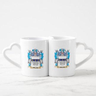 Polon Coat of Arms - Family Crest Lovers Mug Set