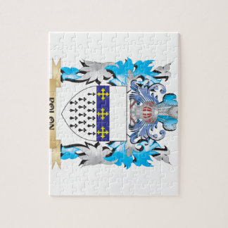Polon Coat of Arms - Family Crest Jigsaw Puzzles