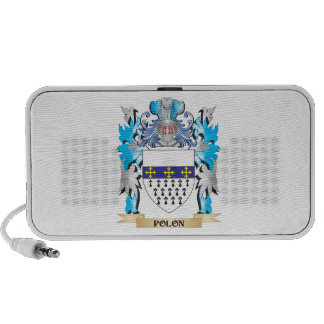 Polon Coat of Arms - Family Crest Mp3 Speakers