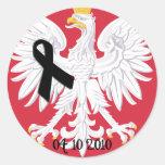Polonia 04/10/2010 etiquetas redondas
