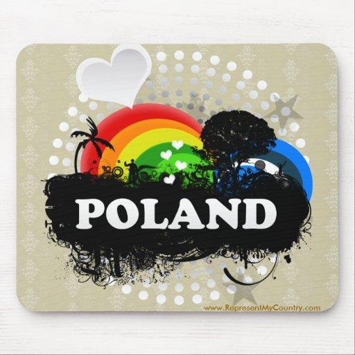 Polonia con sabor a fruta linda mousepads