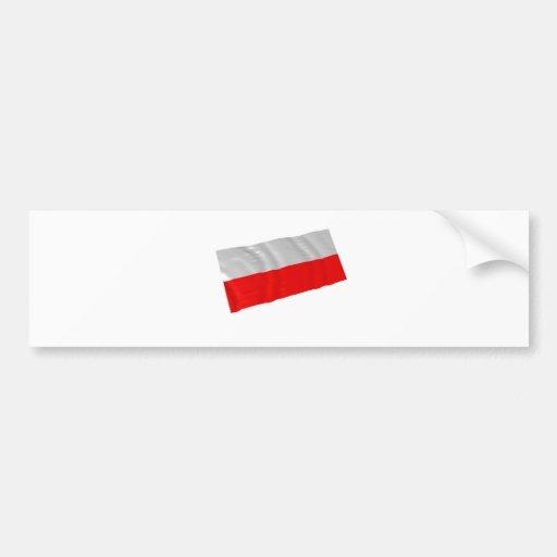 Polonia Etiqueta De Parachoque