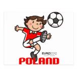 Polonia - euro 2012 postal