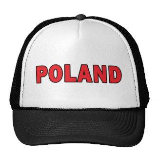 Polonia Gorro De Camionero