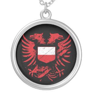 Polonia Grunged Colgante Redondo