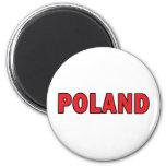 Polonia Imán Para Frigorifico