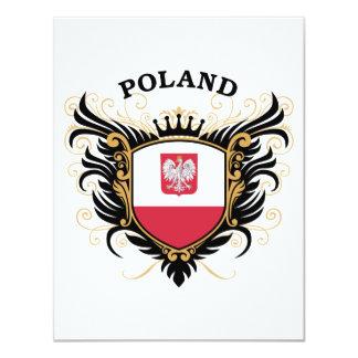 """Polonia Invitación 4.25"""" X 5.5"""""""