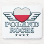 Polonia oscila v2 alfombrilla de ratón