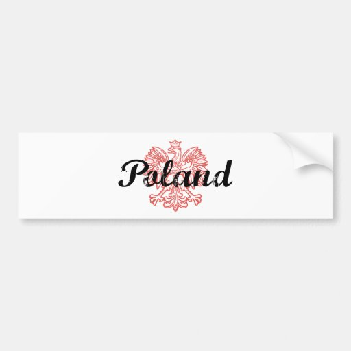 Polonia Pegatina Para Auto