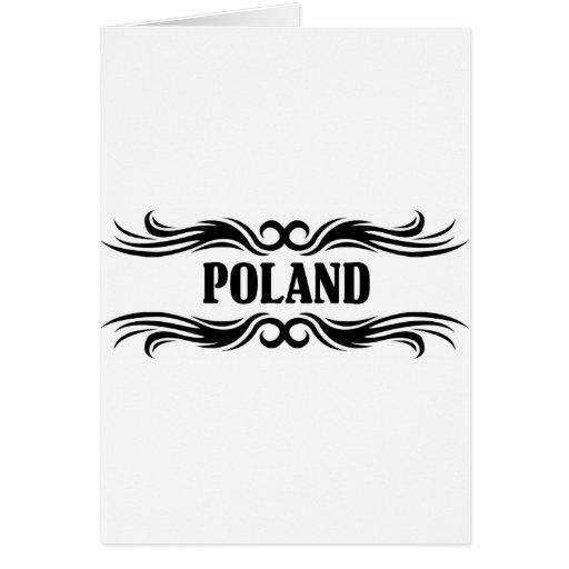 Polonia Tarjeta De Felicitación