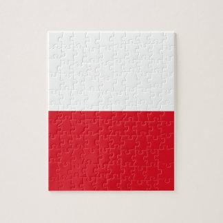 Polonian flag jigsaw puzzle