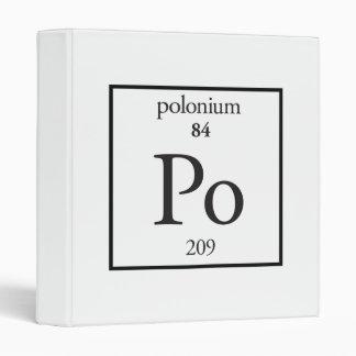 Polonium Binders