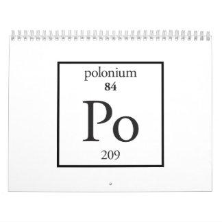 Polonium Calendars