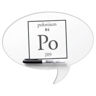 Polonium Dry Erase Board