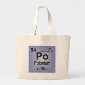 Polonium Individual Element of the Periodic Table Bags