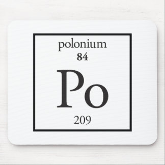 Polonium Mousepad
