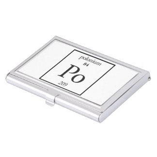 Polonium Business Card Holders