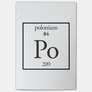 Polonium Post-it® Notes