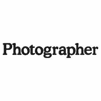 Poloshirt del fotógrafo camiseta polo bordada